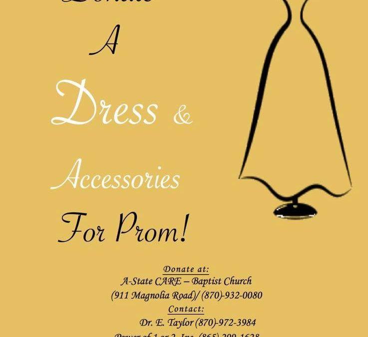 DONATE A PROM DRESS