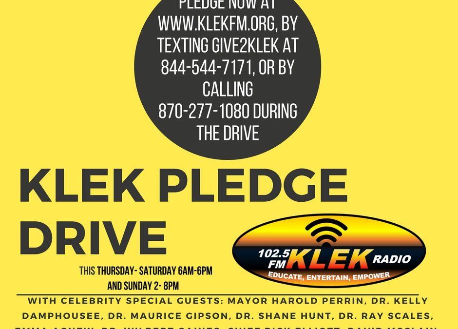 First Ever KLEK Pledge Drive earns $14,390 in Pledges