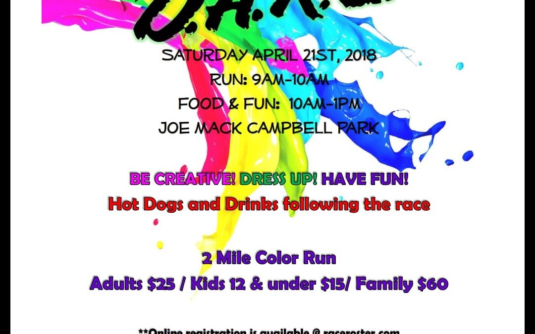 Color Me D.A.R.E COLOR RUN