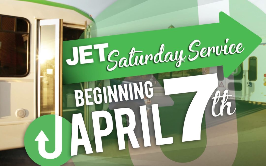 JETS Now Offering Saturday Service