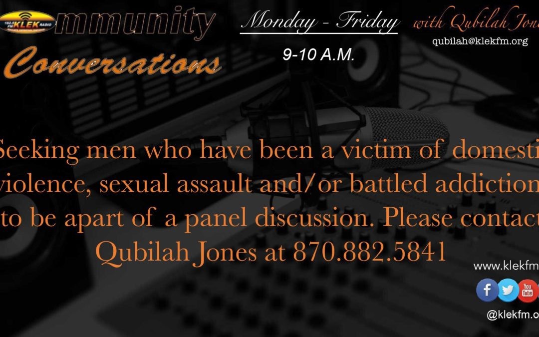 MALE DISCUSSION PANEL