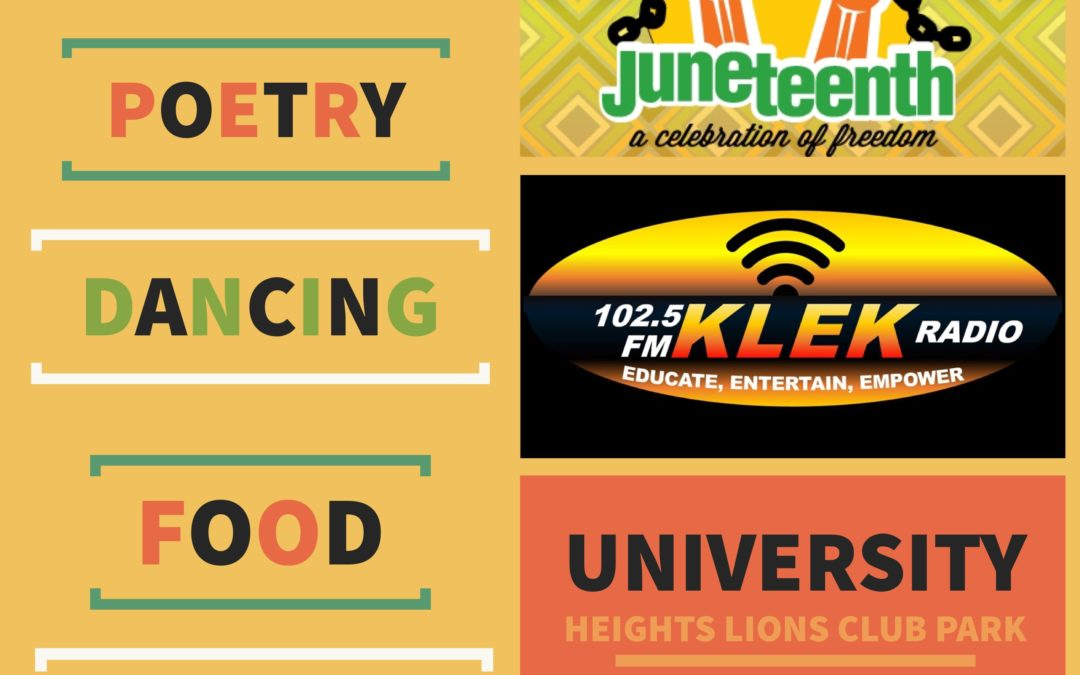 KLEK 102.5 FM to host 1st Annual Juneteenth Celebration