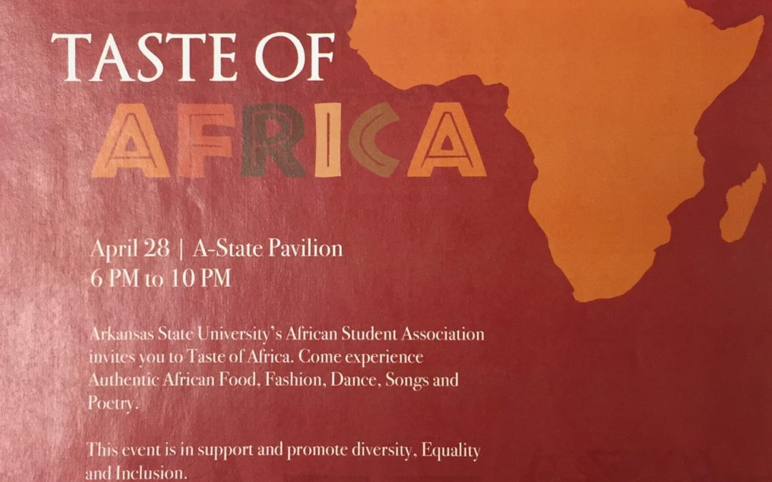A Taste of Africa is Coming to Arkansas State University