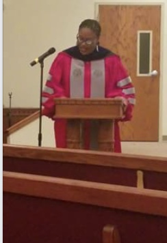 Dr. Cherisse Jones-Branch Delivers Message at Baccalaureate Service