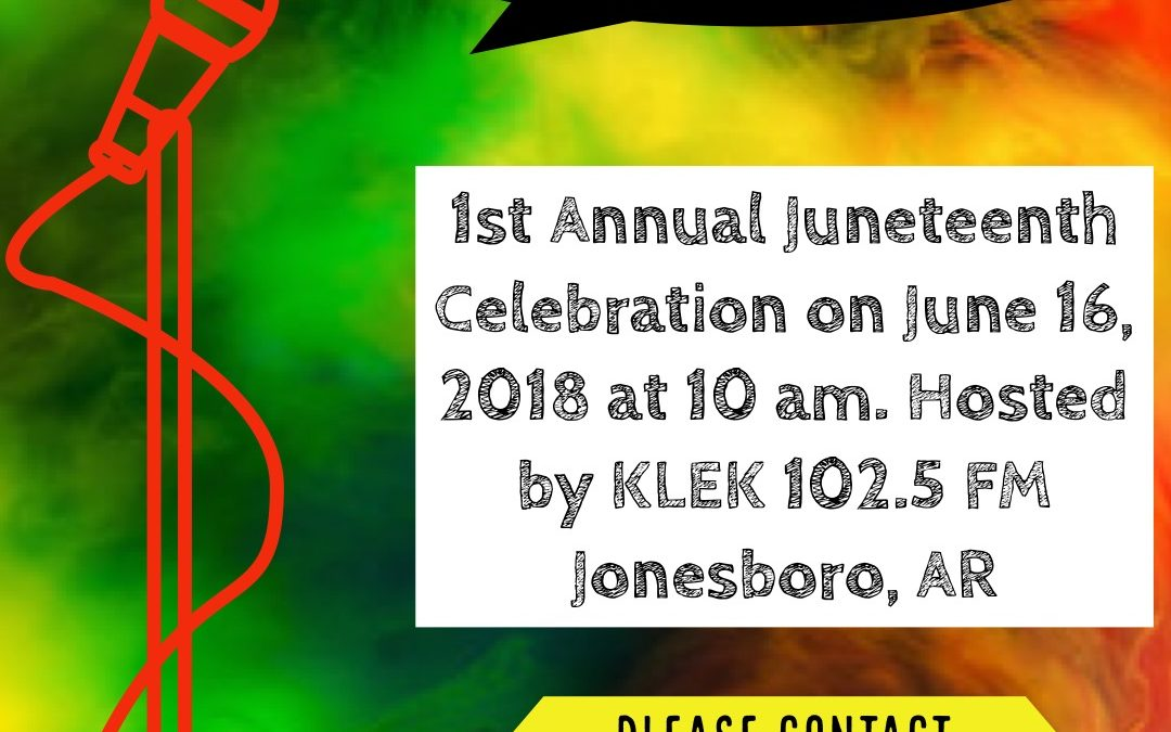 Seeking Poets & Spoken Word Artists for Juneteenth Celebration.