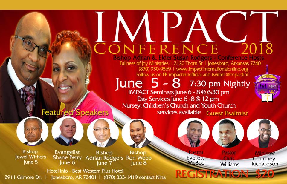 Impact Conference 2018 at Fullness of Joy Ministries