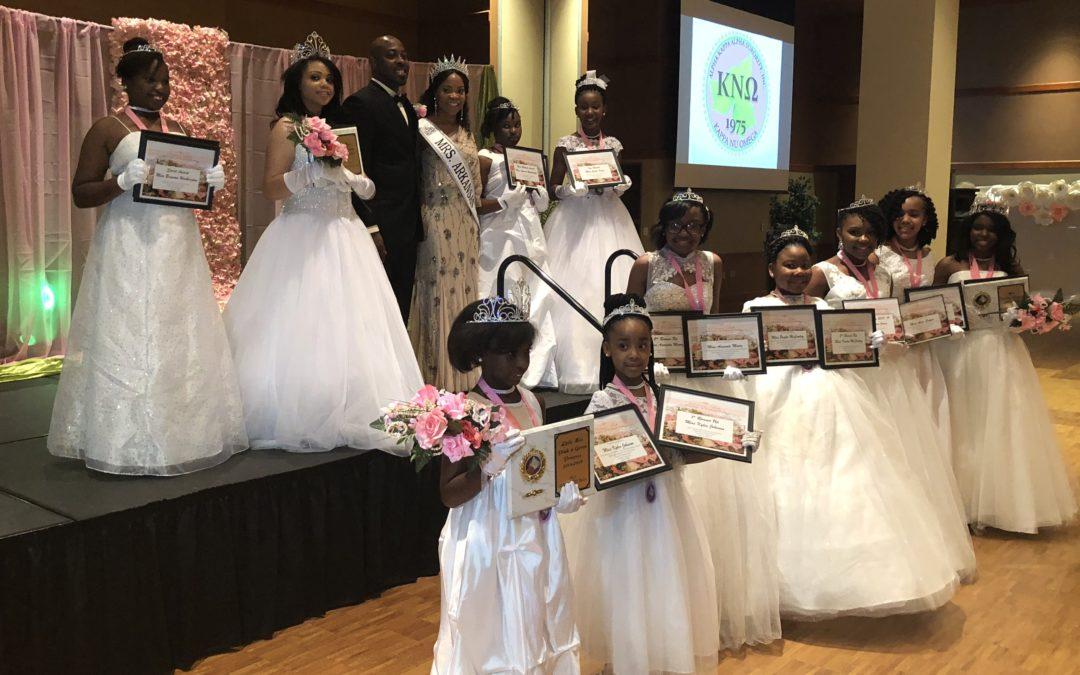 "Kappa Nu Omega of Alpha Kappa Alpha Hosts ""A Vision Fair"" Debutante Ball"