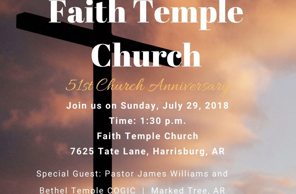 51st Church Anniversary