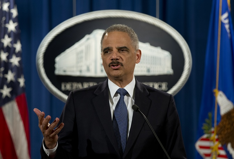 Former U.S. Attorney General Eric Holder May Run for President in 2020
