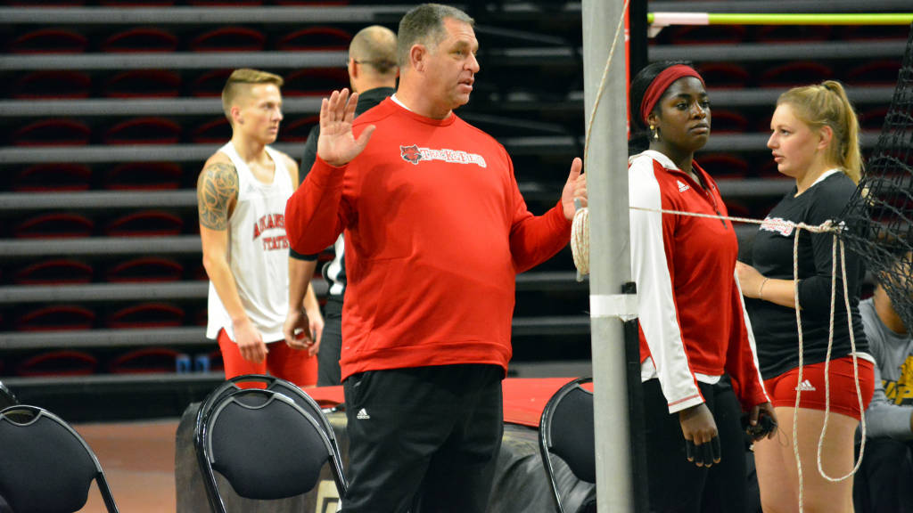 Kraft Promoted to A-State Track & Field Associate Head Coach