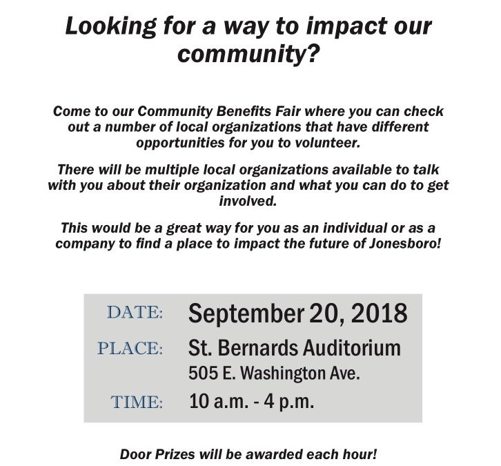 Community Benefits Fair