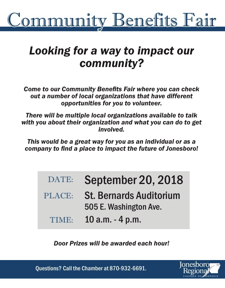 Community Benefits Fair | KLEK 102 5 FM