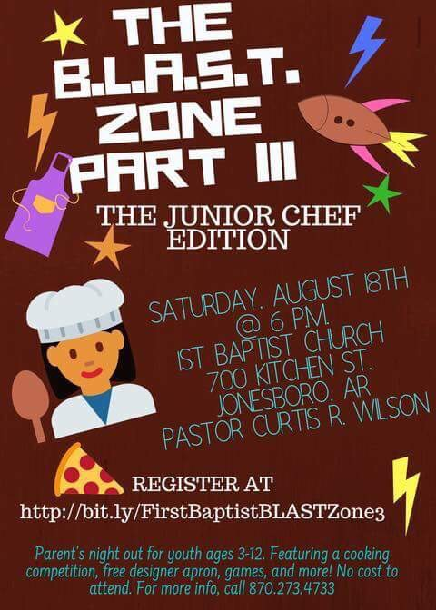 First Baptist Church hosts The B.L.A.S.T. Zone III