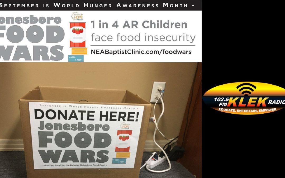 KLEK to Battle in the Jonesboro Food Wars