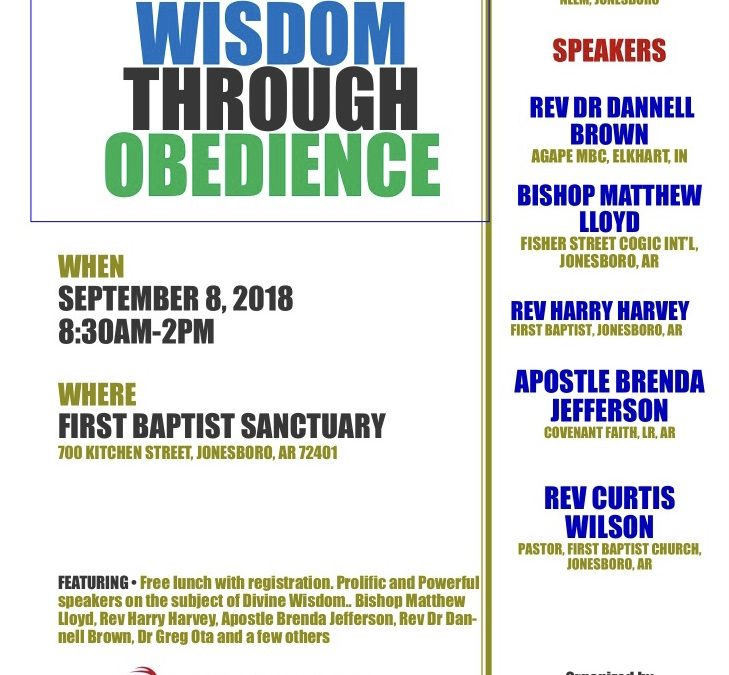 Annual Divine Wisdom Through Obedience Conference