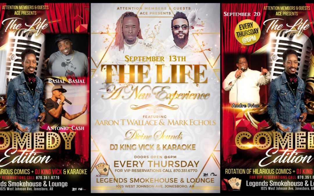 The Life Hosts Live Bands & Comedy Shows Every Thursday