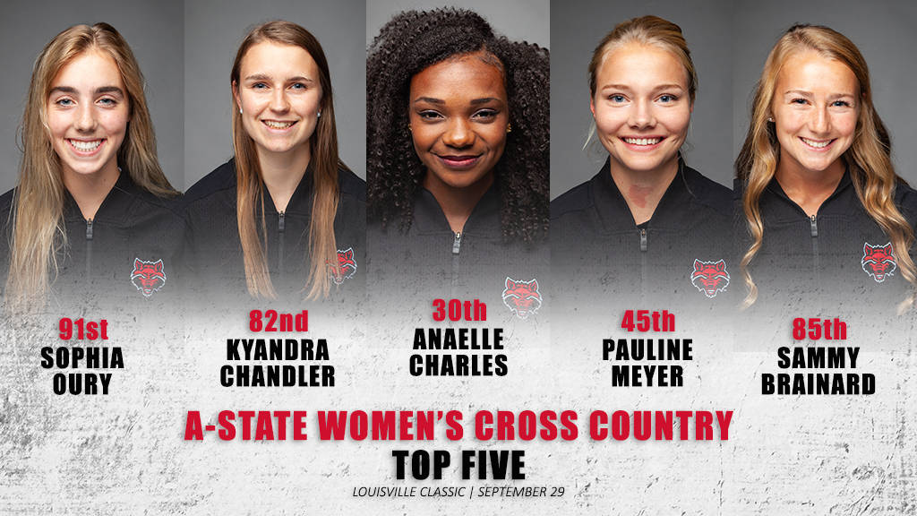 A-State Women's Cross Country Finishes Eighth at Louisville Classic