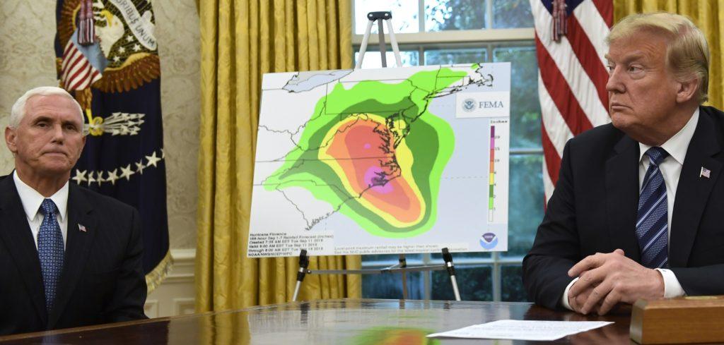 FEMA Briefs the President on Hurricane Florence
