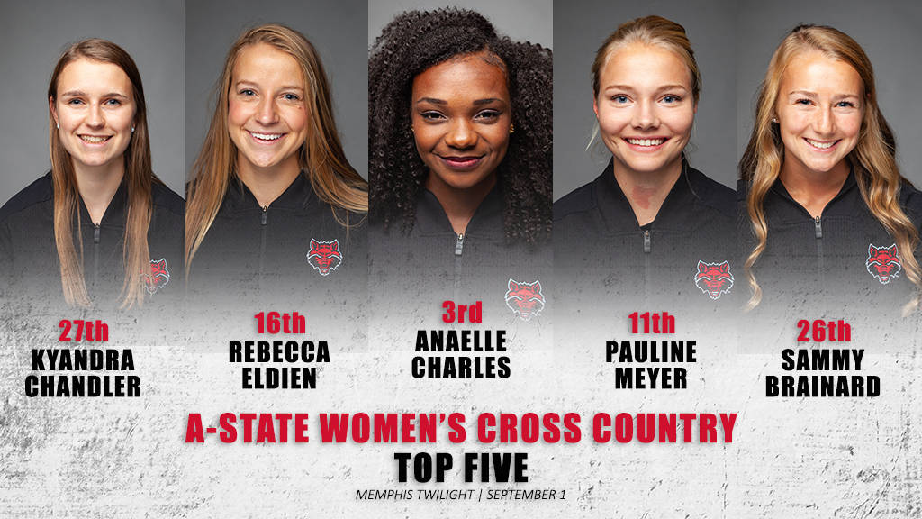 Strong Performance for A-State Women's Cross Country in Season Opener