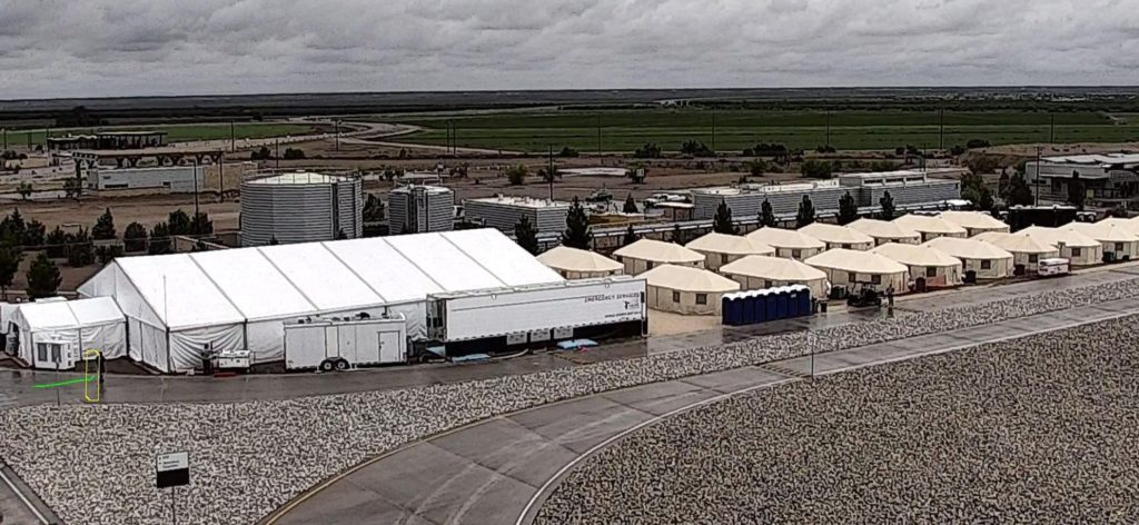 Migrant Children Being Moved to Texas
