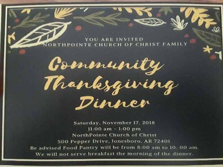 Community Thanksgiving Dinner