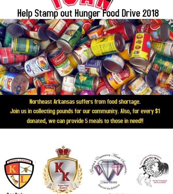 iCan Stamp Out Hunger Food Drive