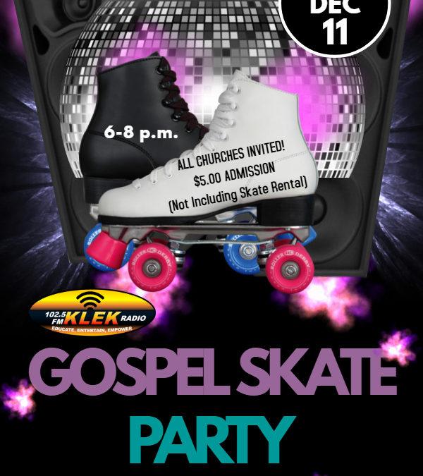 KLEK Gospel Skate Party