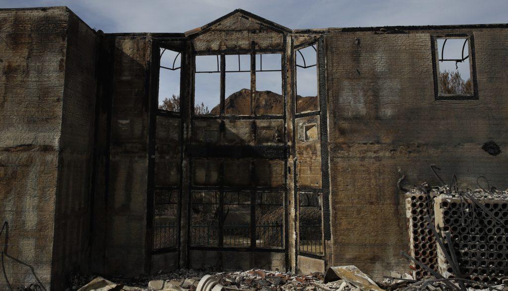 Many Celeb Homes Among California Wildfire Wreckage