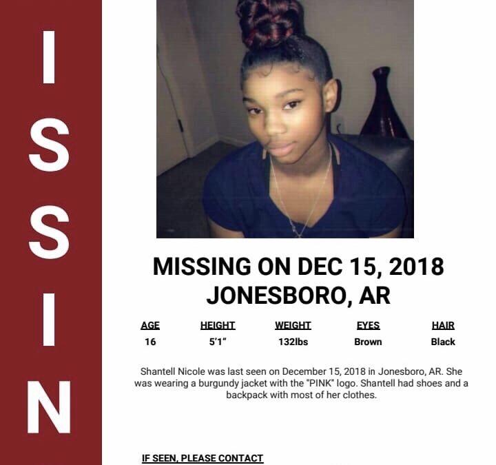 "Missing Person ""Shantell Johnson"""