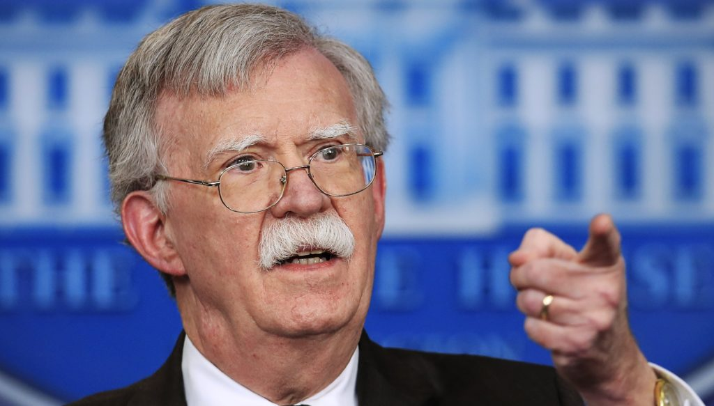 John Bolton Sees No Reason to Listen to Kashouggi Tapes from Saudi Embassy