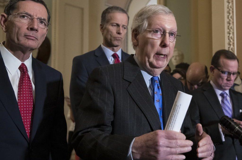 President Backing Down on Government Shutdown