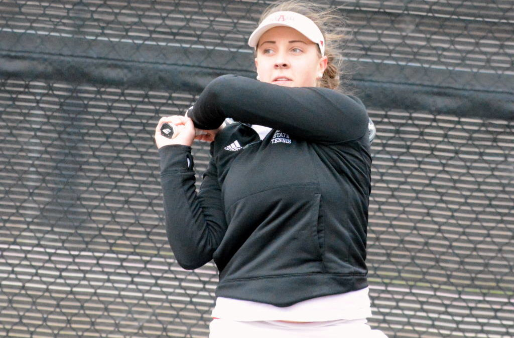 A-State Tennis Sweeps UMKC 4-0