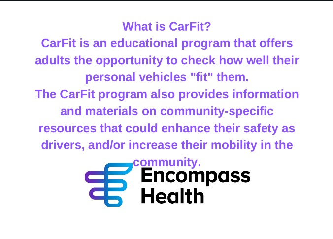 CarFit Clinic Hosted by Encompass