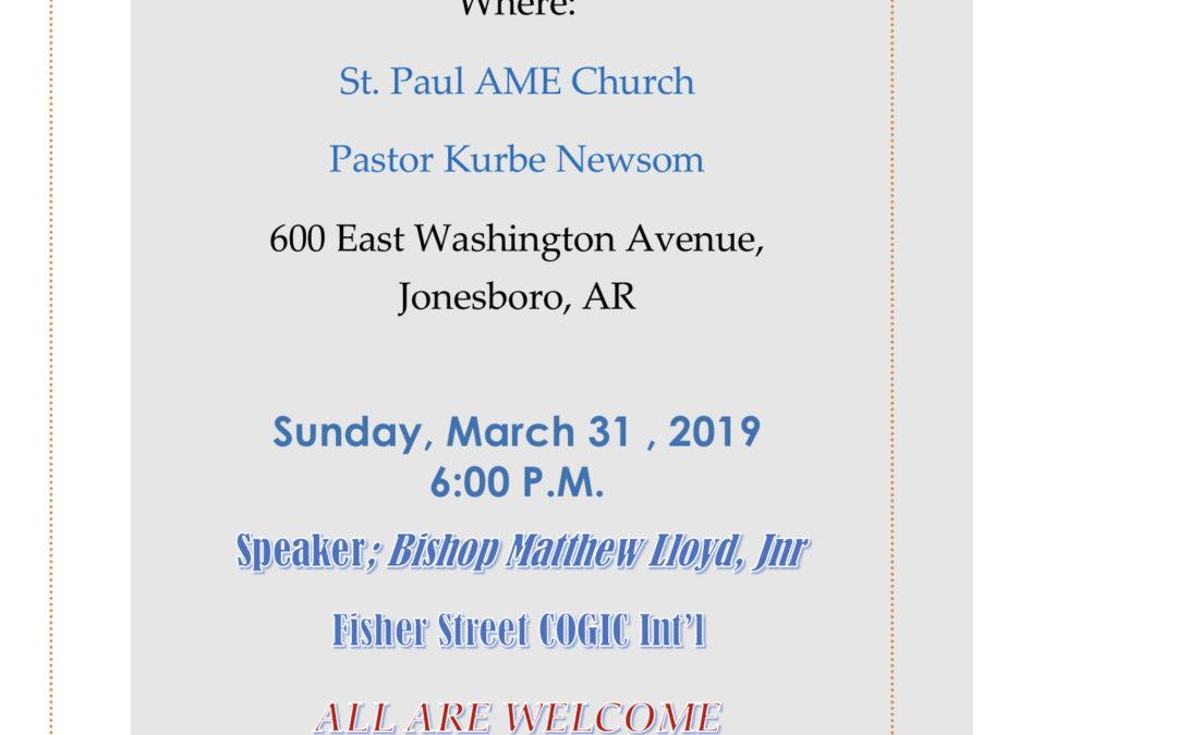 Community Fifth Sunday Service