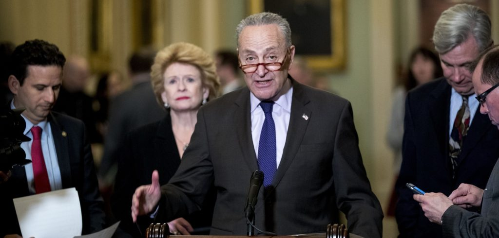 April Ryan Speaks with Sen. Chuck Schumer about Senate Vote to Repeal Emergency Declaration