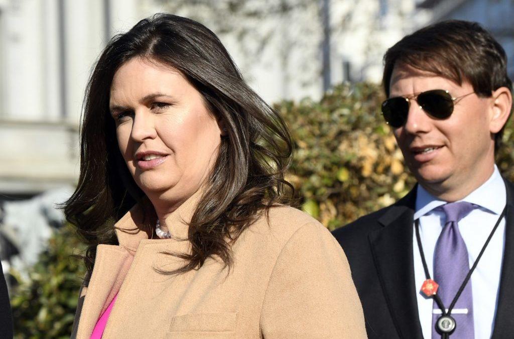 Sarah Huckabee Sanders Comments on Mueller Report