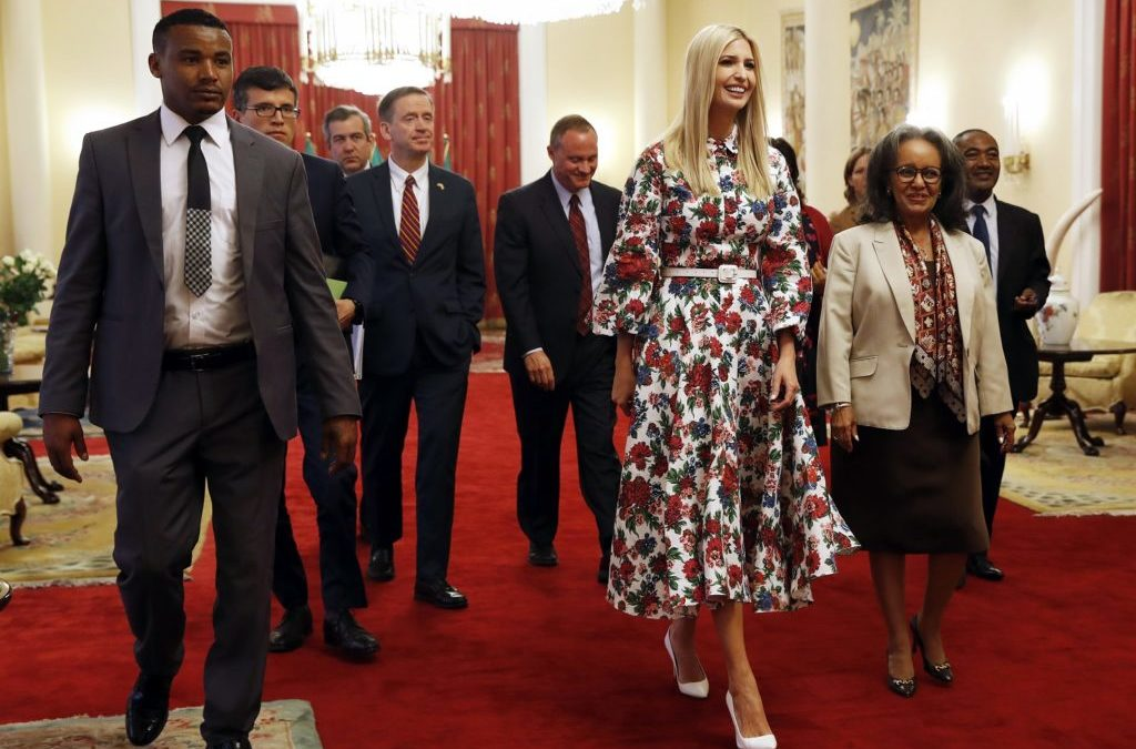 Ivanka Trump Four-Day Trip to Ethiopia, Ivory Coast