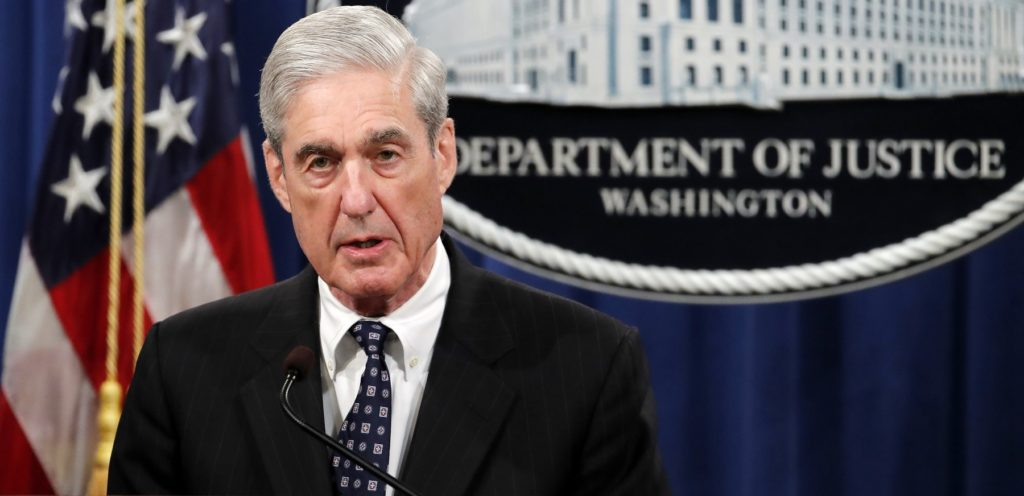 No Surprises in Mueller Statement