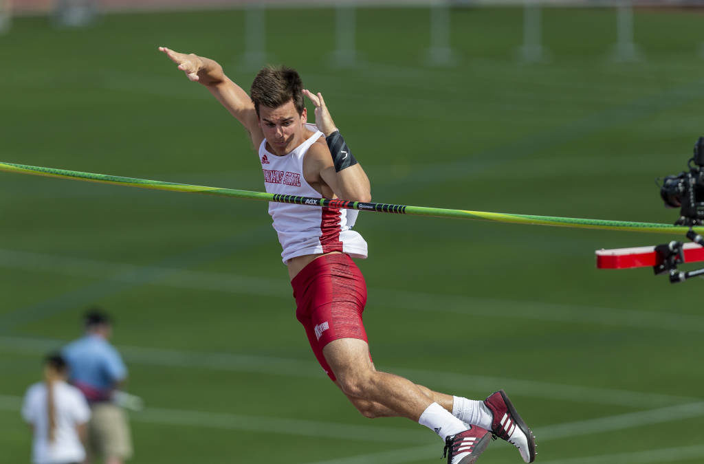 Michael Carr Sets School Record in Pole Vault at NCAA Outdoor Championships