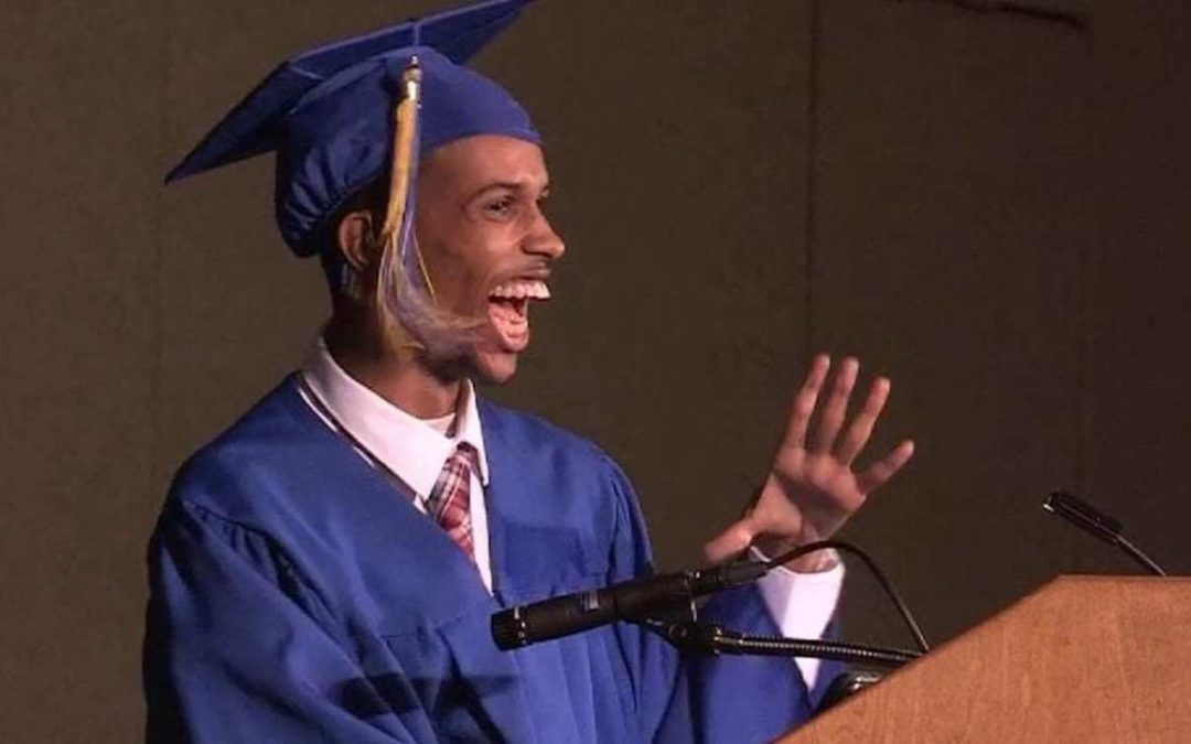 Non-Verbal High School Student Ahmed Ali Makes History by Giving Graduation Speech With Voice Tech (WATCH)