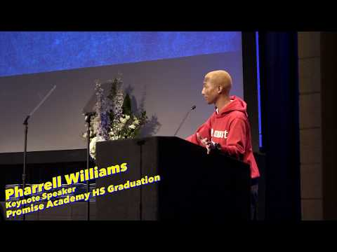 Pharrell Surprises 114 College-Bound High School Graduates with Summer Internships (WATCH)