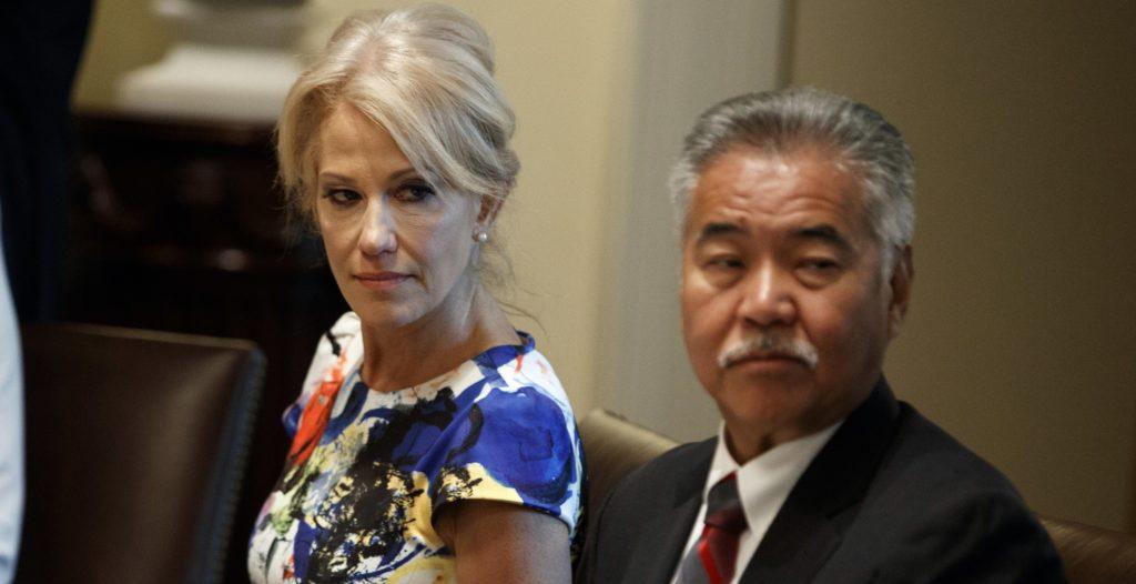 President Assures Kellyanne Conway is Safe