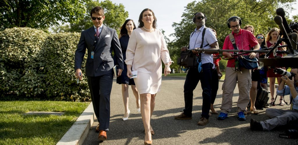 Sarah Sanders Leaves the White House