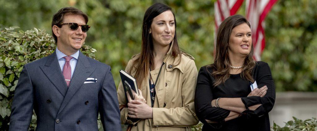 White House Vetting New Press Secretary