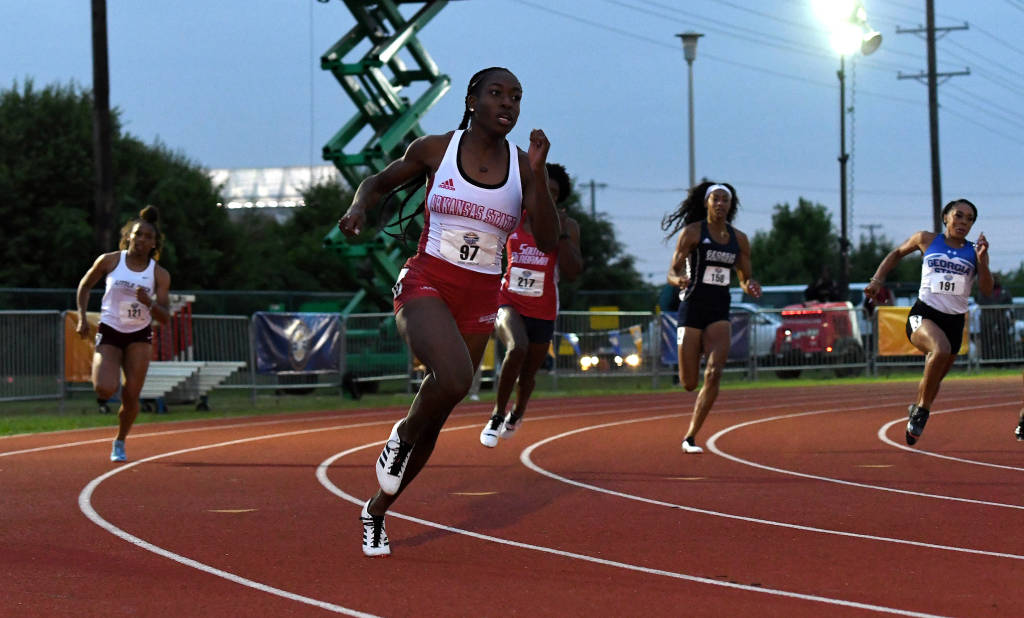 A-State's Smith Finishes Seventh In 100m At USATF Outdoor Championships
