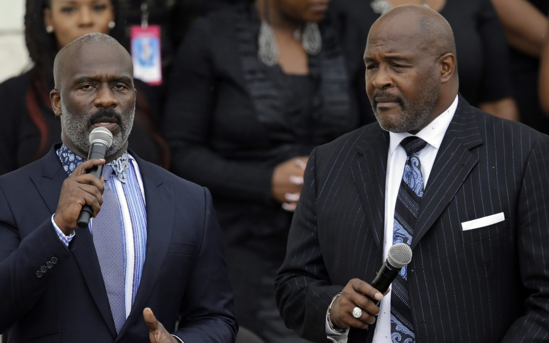 April Ryan Interview with Marvin Winans at NAACP Convention