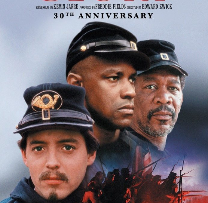 "GBN GIVEAWAY: Win Movie Tickets to 30th Anniversary Re-Release of ""Glory"" Starring Denzel Washington and Morgan Freeman"