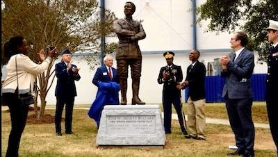 Eugene Bullard, the 1st Known African-American fighter Pilot, Now Has Statue at Museum of Aviation in Georgia