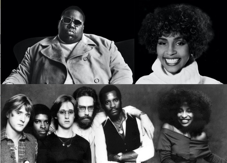 Whitney Houston, Notorious B.I.G., and Rufus feat. Chaka Khan Nominated for 2020 Rock & Roll Hall of Fame