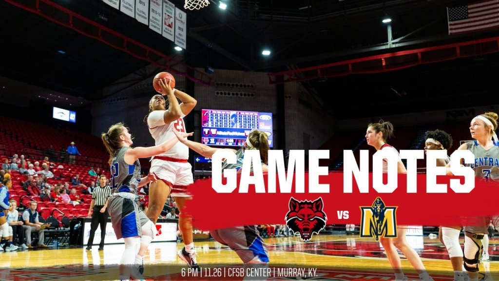 @AStateWB Game Notes: at Murray State
